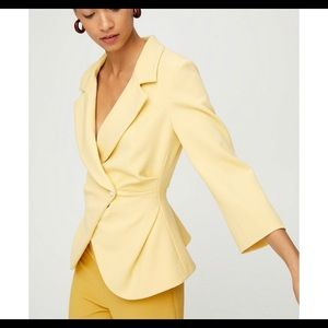 Wilfred Selina blazer size 2 in yellow